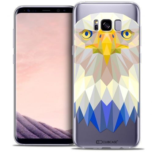 Carcasa Crystal Gel Extra Fina Samsung Galaxy S8 (G950) Polygon Animals Águila