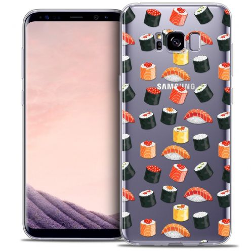 Coque Crystal Gel Samsung Galaxy S8 (G950) Extra Fine Foodie - Sushi