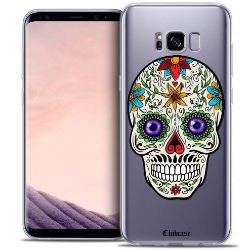Carcasa Crystal Gel Extra Fina Samsung Galaxy S8 (G950) Skull Maria's Flower