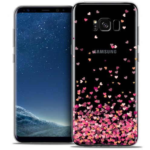 Coque Crystal Gel Samsung Galaxy S8 (G950) Extra Fine Sweetie - Heart Flakes