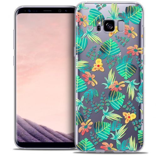 Coque Crystal Gel Samsung Galaxy S8 (G950) Extra Fine Spring - Tropical