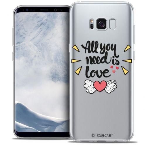 Carcasa Crystal Gel Extra Fina Samsung Galaxy S8 (G950) Love All U Need Is