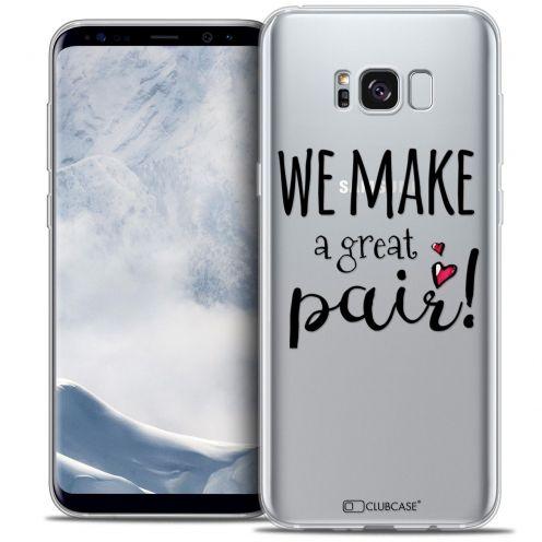Carcasa Crystal Gel Extra Fina Samsung Galaxy S8 (G950) Love We Make Great Pair