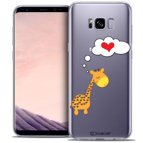 Carcasa Crystal Gel Extra Fina Samsung Galaxy S8 (G950) Love Girafe Amoureuse
