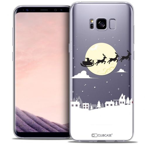 Coque Crystal Gel Samsung Galaxy S8 (G950) Extra Fine Noël 2016 - Flying Stanta