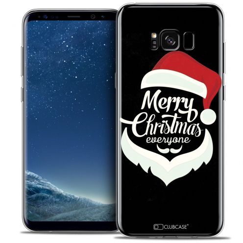Coque Crystal Gel Samsung Galaxy S8 (G950) Extra Fine Noël 2016 - Merry Everyone