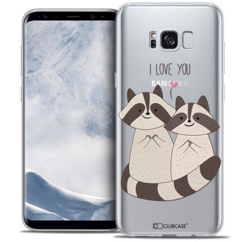 Carcasa Crystal Gel Extra Fina Samsung Galaxy S8 (G950) Sweetie Racoon Love