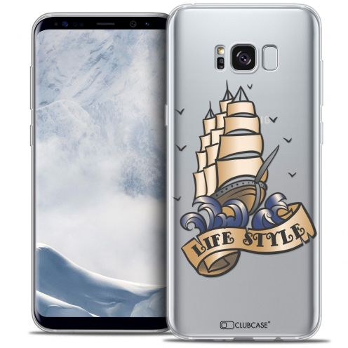 Coque Crystal Gel Samsung Galaxy S8 (G950) Extra Fine Tatoo Lover - Life Style