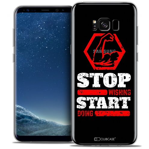 Carcasa Crystal Gel Extra Fina Samsung Galaxy S8 (G950) Quote Start Doing