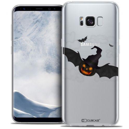 Carcasa Crystal Gel Extra Fina Samsung Galaxy S8 (G950) Halloween Chauve Citrouille