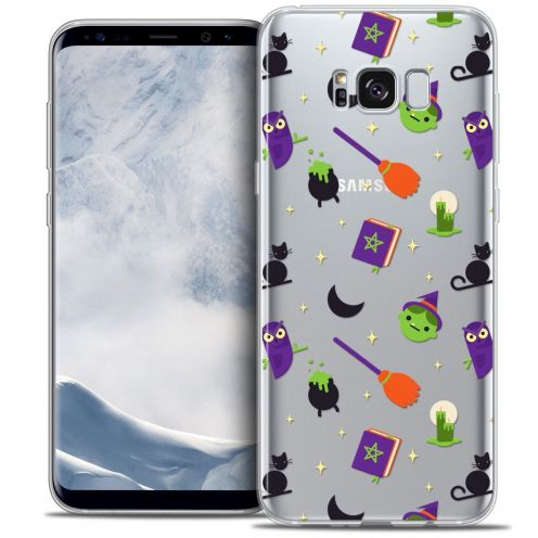 Coque Crystal Gel Samsung Galaxy S8 (G950) Extra Fine Halloween - Witch Potter