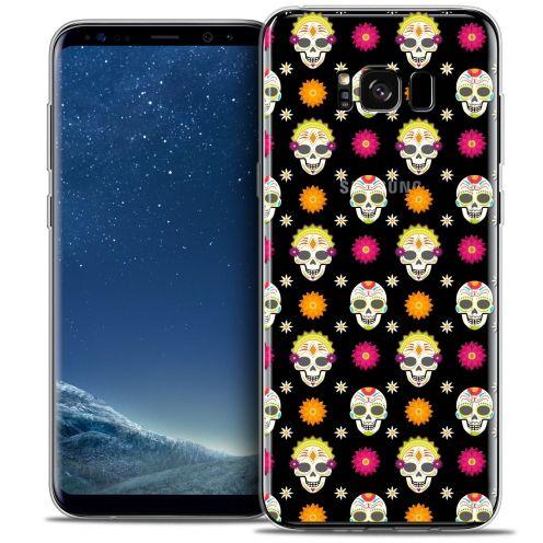 Coque Crystal Gel Samsung Galaxy S8 (G950) Extra Fine Halloween - Skull Halloween