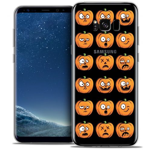 Carcasa Crystal Gel Extra Fina Samsung Galaxy S8 (G950) Halloween Cartoon Citrouille