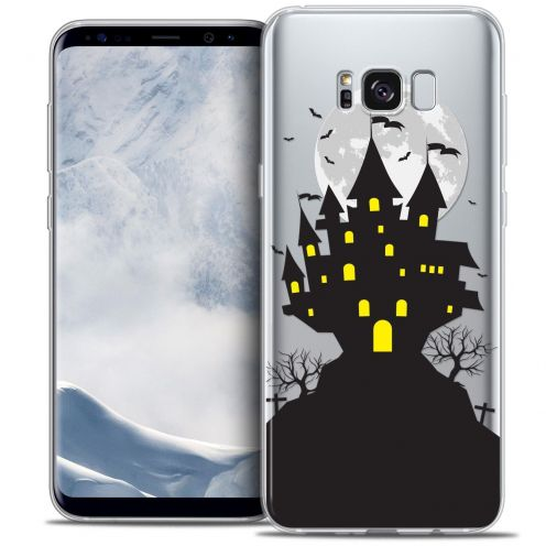 Coque Crystal Gel Samsung Galaxy S8+/ Plus (G955) Extra Fine Halloween - Castle Scream