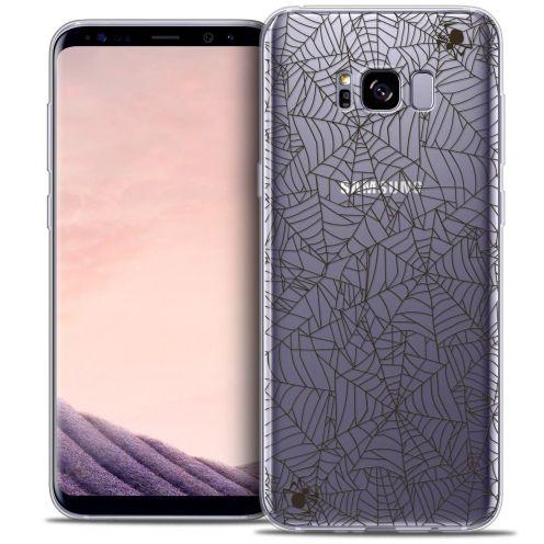 Carcasa Crystal Gel Extra Fina Samsung Galaxy S8+/ Plus (G955) Halloween Spooky Spider