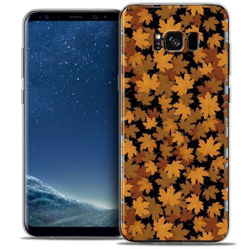 Carcasa Crystal Gel Extra Fina Samsung Galaxy S8+/ Plus (G955) Autumn 16 Feuilles