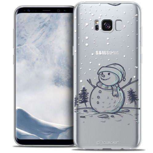Carcasa Crystal Gel Extra Fina Samsung Galaxy S8+/ Plus (G955) Noël 2016 Bonhomme de Neige
