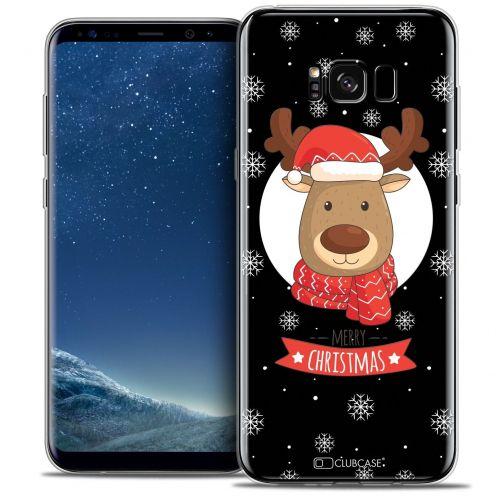 Carcasa Crystal Gel Extra Fina Samsung Galaxy S8+/ Plus (G955) Noël 2016 Cerf à Echarpe