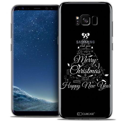 Carcasa Crystal Gel Extra Fina Samsung Galaxy S8+/ Plus (G955) Noël 2016 Calligraphie
