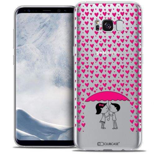 Coque Crystal Gel Samsung Galaxy S8+/ Plus (G955) Extra Fine Love - Pluie d'Amour