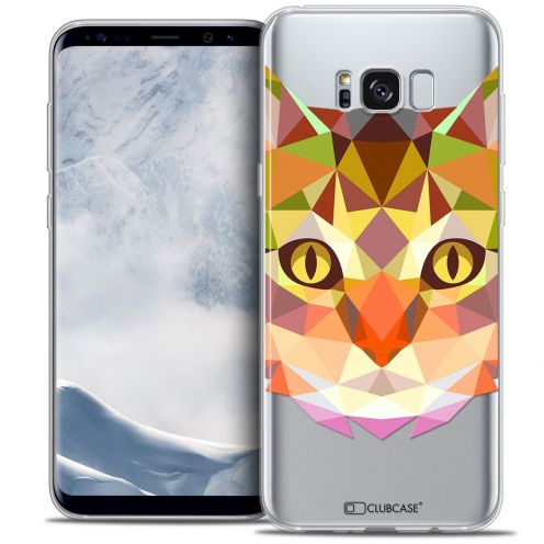 Carcasa Crystal Gel Extra Fina Samsung Galaxy S8+/ Plus (G955) Polygon Animals Gato