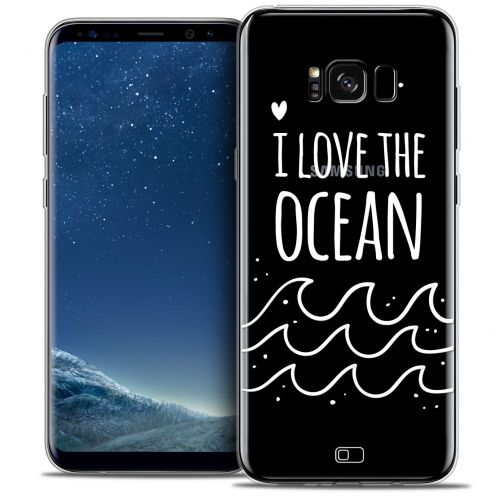 Coque Crystal Gel Samsung Galaxy S8+/ Plus (G955) Extra Fine Summer - I Love Ocean