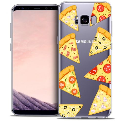 Carcasa Crystal Gel Extra Fina Samsung Galaxy S8+/ Plus (G955) Foodie Pizza