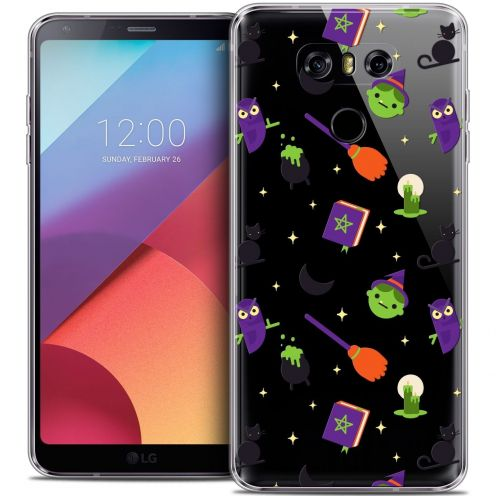 Coque Crystal Gel LG G6 Extra Fine Halloween - Witch Potter