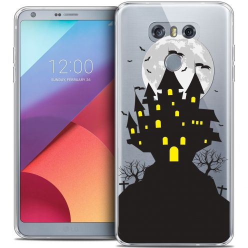 Carcasa Crystal Gel Extra Fina LG G6 Halloween Castle Scream