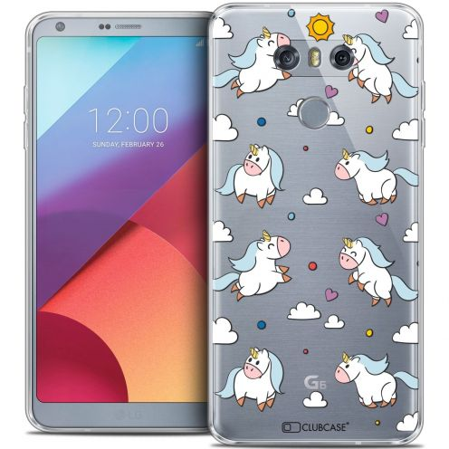 Coque Crystal Gel LG G6 Extra Fine Fantasia - Licorne In the Sky