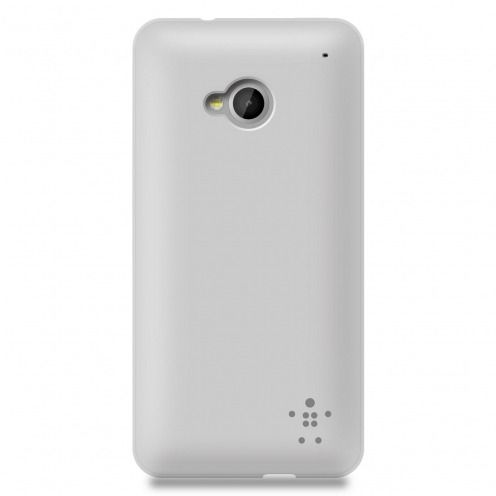 Carcasa Belkin® Grip Sheer Matte Clear por HTC One M7