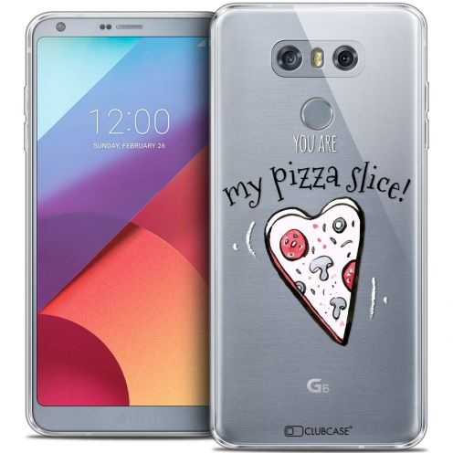 Carcasa Crystal Gel Extra Fina LG G6 Love My Pizza Slice