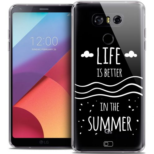 Coque Crystal Gel LG G6 Extra Fine Summer - Life's Better