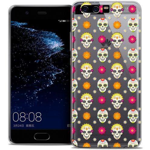 Carcasa Crystal Gel Extra Fina Huawei P10 Halloween Skull Halloween