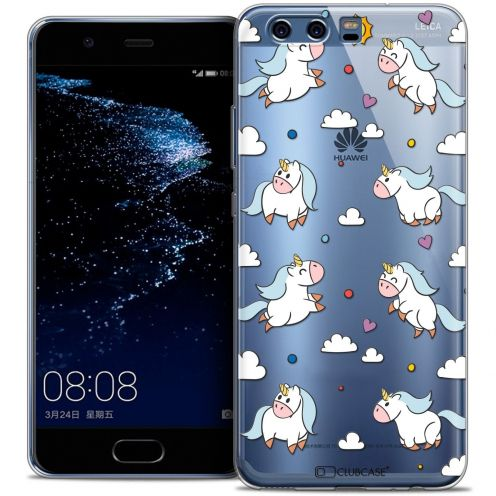 Coque Crystal Gel Huawei P10 Extra Fine Fantasia - Licorne In the Sky