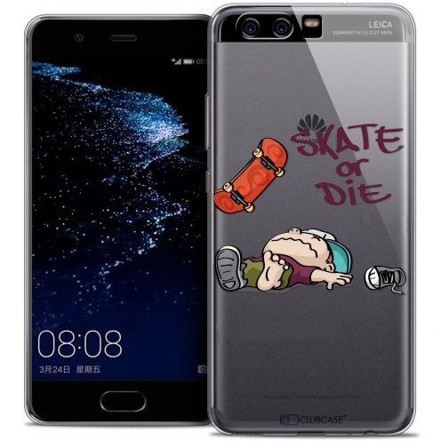 Carcasa Crystal Gel Extra Fina Huawei P10 BD 2K16 Skate Or Die