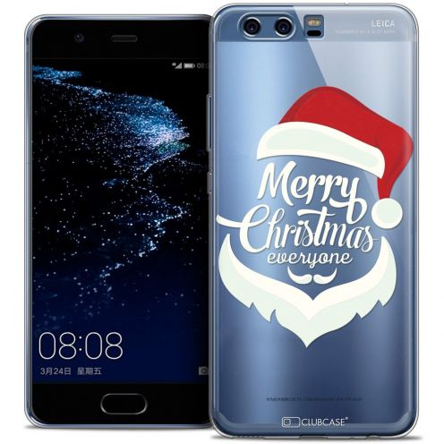 Coque Crystal Gel Huawei P10 Extra Fine Noël 2016 - Merry Everyone
