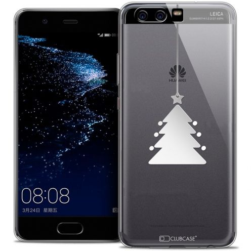 Coque Crystal Gel Huawei P10 Extra Fine Noël 2016 - Petit Arbre