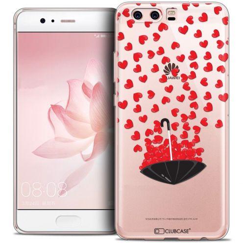 Carcasa Crystal Gel Extra Fina Huawei P10 Love Parapluie d'Amour