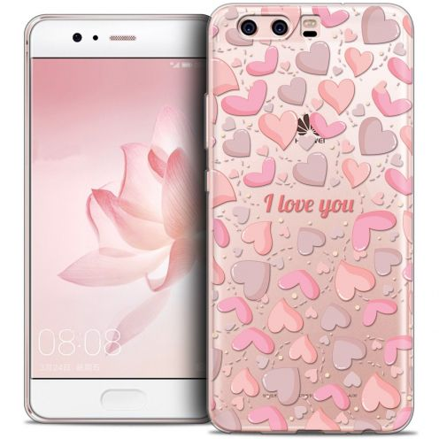 Coque Crystal Gel Huawei P10 Extra Fine Love - I Love You