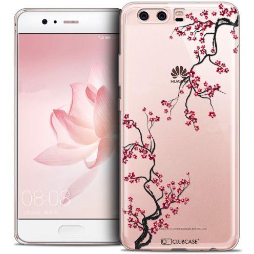 Carcasa Crystal Gel Extra Fina Huawei P10 Summer Sakura