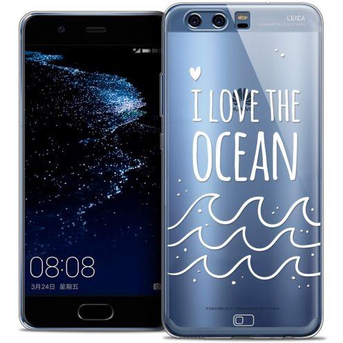 Carcasa Crystal Gel Extra Fina Huawei P10 Summer I Love Ocean