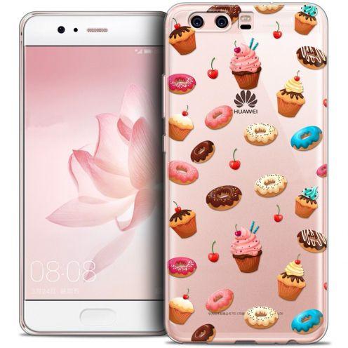 Carcasa Crystal Gel Extra Fina Huawei P10 Foodie Donuts