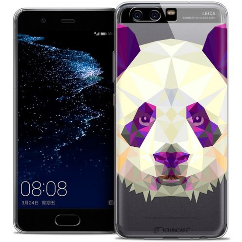 Carcasa Crystal Gel Extra Fina Huawei P10 Polygon Animals Panda