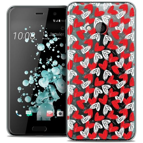 Coque Crystal Gel HTC U Play Extra Fine Love - With Love