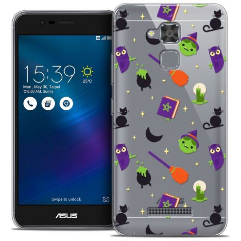 """Carcasa Crystal Gel Extra Fina Asus Zenfone 3 Max ZC520TL (5.2"""") Halloween Witch Potter"""