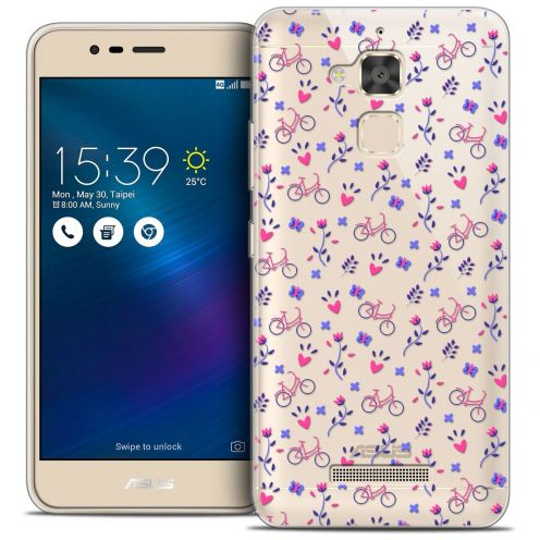 """Coque Crystal Gel Asus Zenfone 3 Max ZC520TL (5.2"""") Extra Fine Love - Bicycle"""
