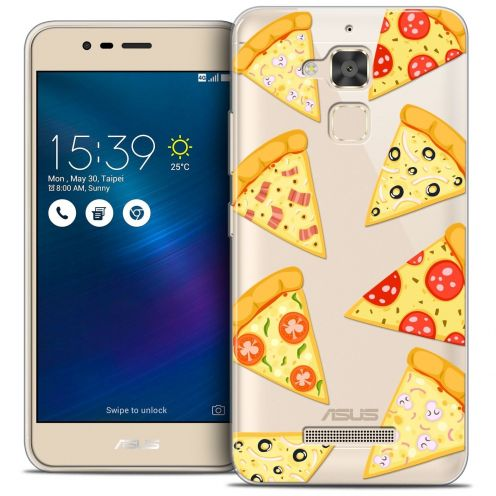 """Coque Crystal Gel Asus Zenfone 3 Max ZC520TL (5.2"""") Extra Fine Foodie - Pizza"""