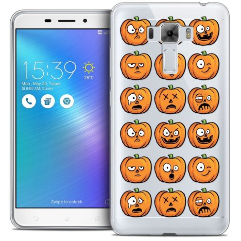 "Coque Crystal Gel Asus Zenfone 3 Laser ZC551KL (5.5"") Extra Fine Halloween - Cartoon Citrouille"