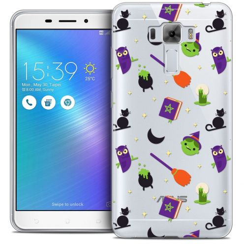 "Coque Crystal Gel Asus Zenfone 3 Laser ZC551KL (5.5"") Extra Fine Halloween - Witch Potter"